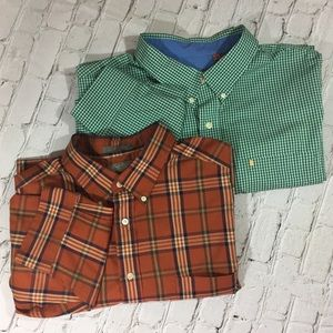 Daniel Cremieux / Izod 3XL long sl. button downs